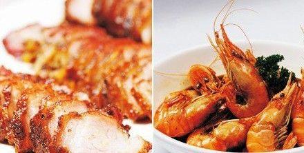 螃蟹海鲜大虾图片