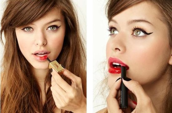 组图:与老气划清界限红唇各式新画法轻松减龄