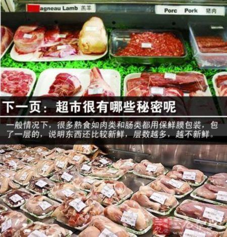用包装层数检验肉类熟食新鲜度