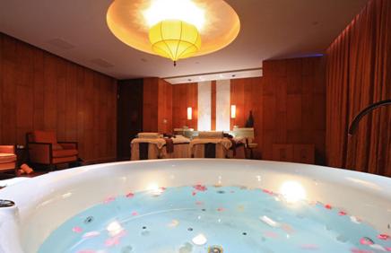 香格里拉酒店:水疗中心