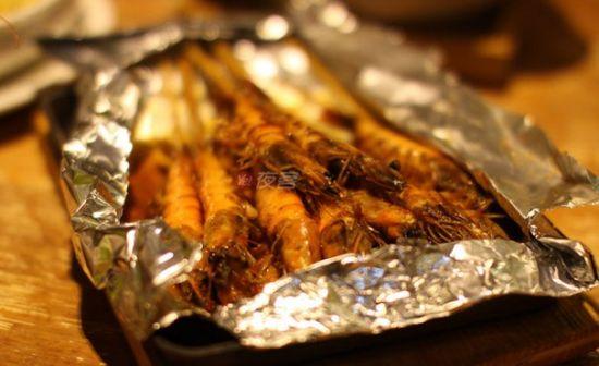 秘制串烧虾