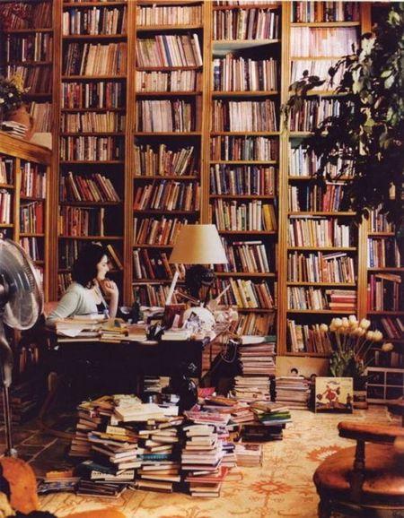 Nigella Lawson's Private Library, Londo