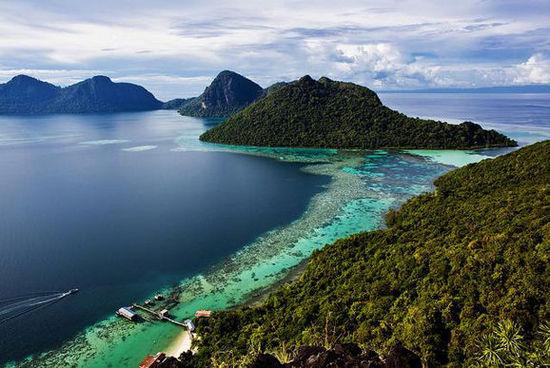 来马来西亚卡帕莱岛体验没有沙滩的水上屋