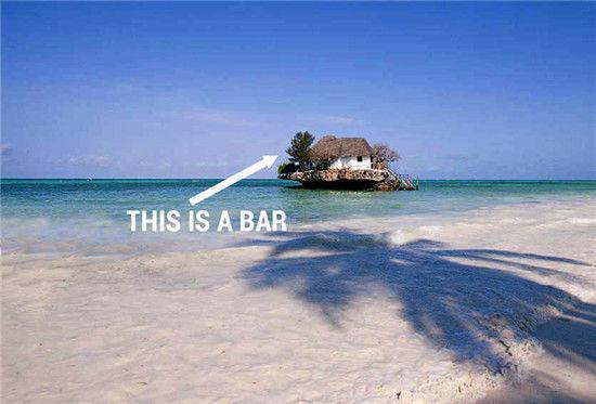 组图:非凡的体验畅饮全球六大奇特海上酒吧