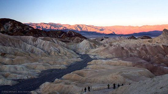 组图:走近美国死亡谷来一场人间炼狱之旅