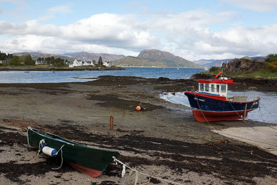苏格兰斯凯岛和普罗克顿
