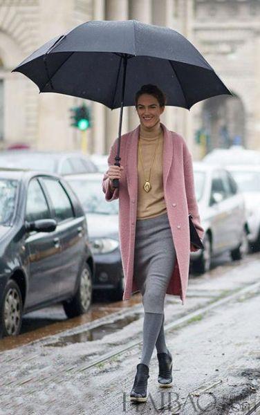 小雨伞下躲着大气场教你用小物件撑起时尚范儿