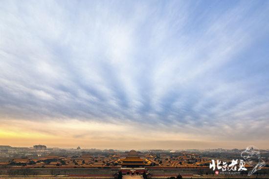 北京蓝天白云