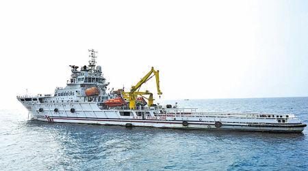 """这是准备出发的""""南海救101""""(3月9日拍摄)。(新华社记者 赵颖全 摄)"""