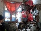 大货车撞进民房事故现场近一年未动