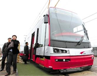 宁波有轨电车,鄞州,首条有轨电车