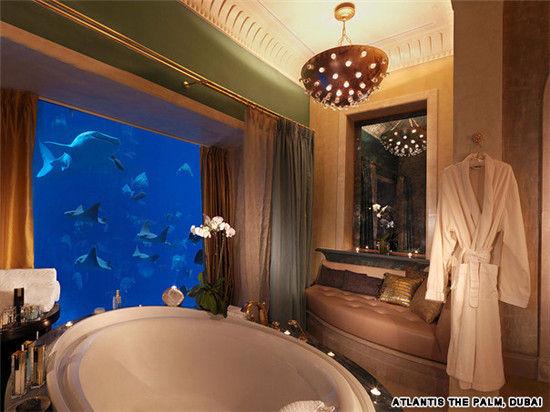 富豪天堂探访阿联酋最令人惊讶的酒店套房