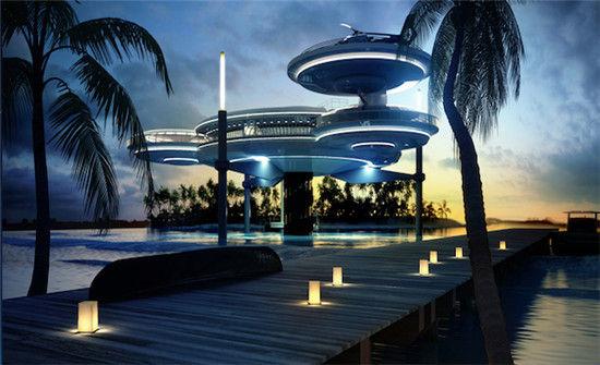 迪拜水上飞盘酒店