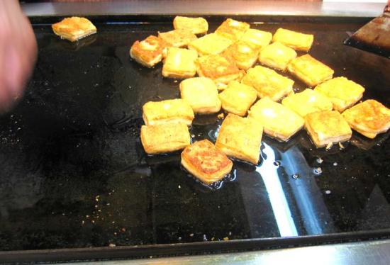 铁板臭豆腐