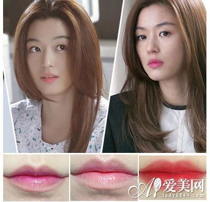 组图:咬唇妆席卷春夏揭秘千颂伊唇妆的3种画法