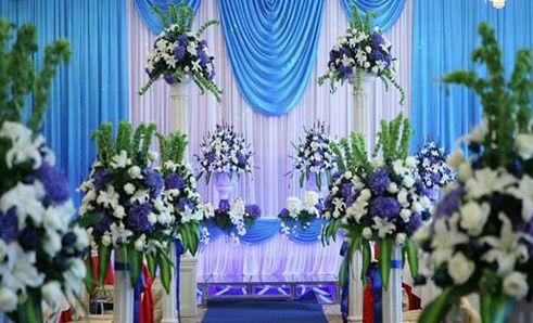 蓝色的婚礼