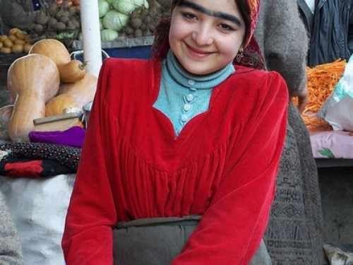 塔吉克女孩