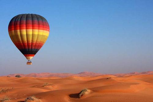 阿联酋阿布扎比沙漠气球之旅