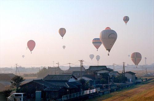 日本佐贺市 佐贺国际热气球节
