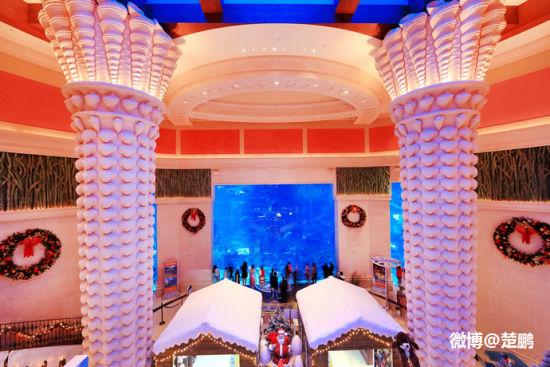 迪拜奢华酒店亚特兰蒂斯纵情狂欢水世界