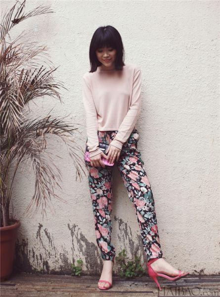 春季裸粉色来袭时尚潮人教你穿出低调的绚丽