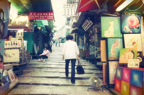 香港石板街(新浪博客/多吱)