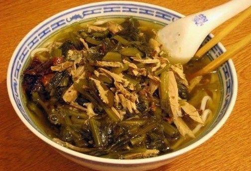 雪菜笋丝汤