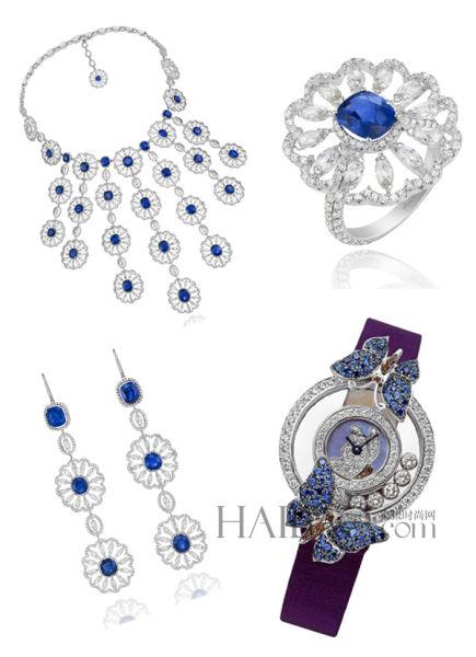 全新顶级定制珠宝系列让彩色宝石幻化为花朵