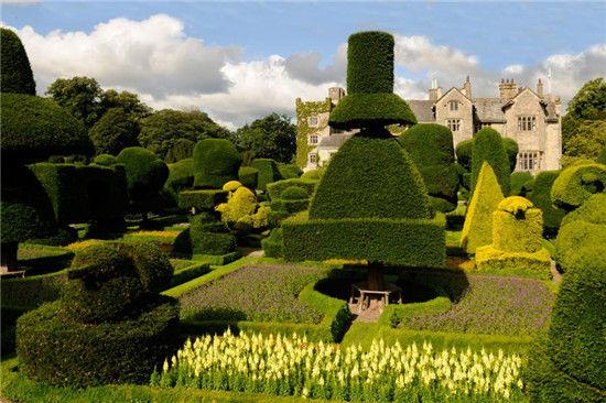 漫步全球九大奇妙花园植物雕塑可爱俏皮(组图)