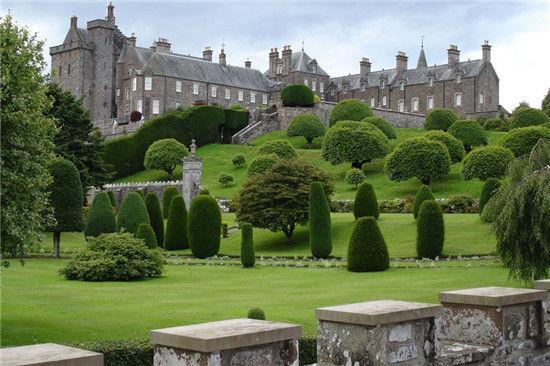 德鲁蒙德城堡花园(Drummond Castle)