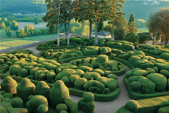 Marqueyssac花园