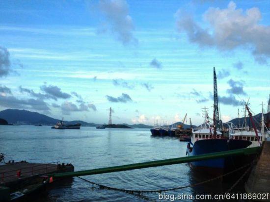 烟台市北岛渔村