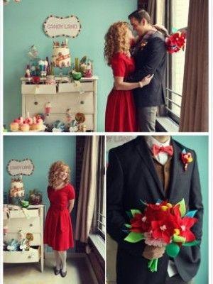 童话感十足的糖果主题婚礼