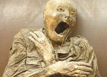 墨西哥瓜纳华托的干尸博物馆
