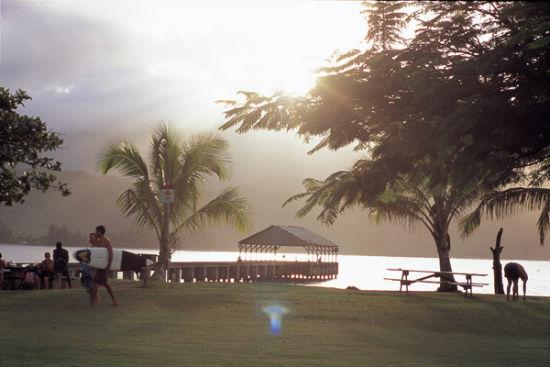 傍晚的夏威夷