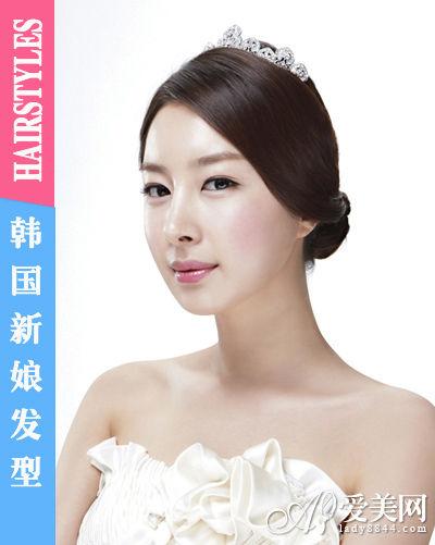 新款韩国新娘发型皇冠发饰更受宠