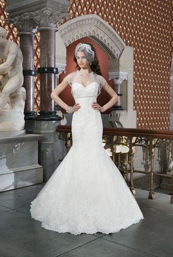 复古上流的婚纱艺术2014最新设计作品