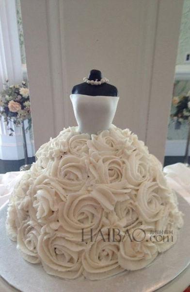 创意婚礼蛋糕带来春夏婚礼的无限乐趣(组图)
