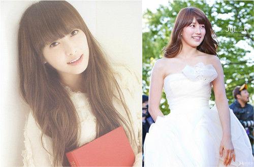 韩国当红女星教你清新唯美新娘发型(组图)