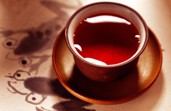 饭后喝浓茶