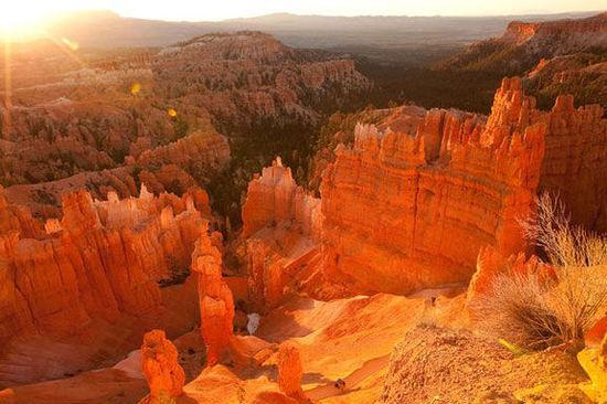 布莱斯峡谷国家公园皇后花园/纳瓦霍组合环道 犹他州