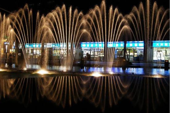天一广场喷泉
