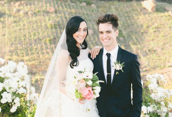 现实中的童话迷人别致的马里布婚礼