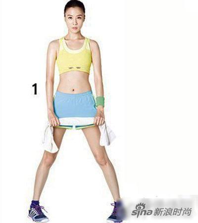 达人完美示范五组居家减肥动作让你瘦腿又翘臀