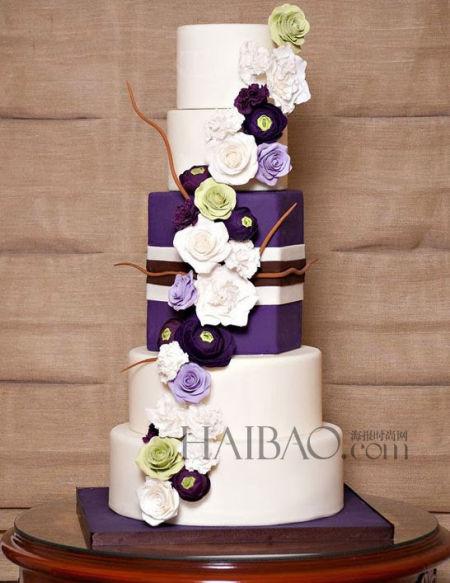 蛋糕设计师的灵巧心思打造大日子的甜蜜主题