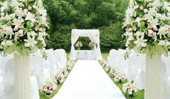 见证爱情美妙时刻推荐甬城户外婚礼举办地