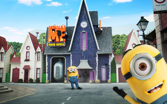 奇幻城堡里的小黄人