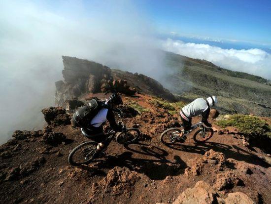 西班牙加那利群岛骑车
