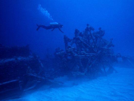 百慕大群岛潜水探险