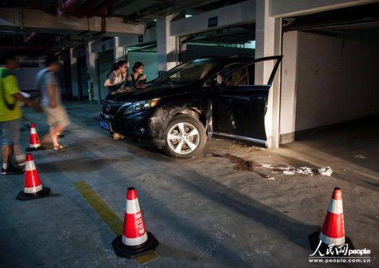 2013年6月19日,车祸现场。烨子/CFP